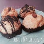 a picture of coconut Macarons