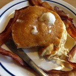 a picture of ihop pancakes