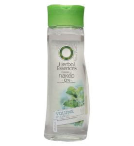 a photo of herbal essences clearly naked shampoo