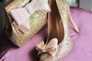 A photo of glitter shoes ©creativeyoke.com